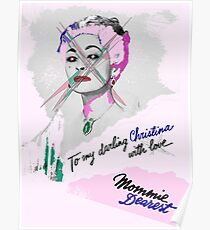 Punk Mommie Dearest (Vandalized by Christina) Poster