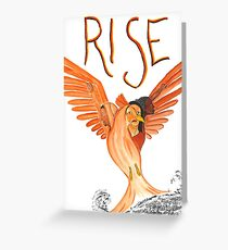 Rise! Greeting Card