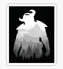 Elder Scrolls - Skyrim Sticker