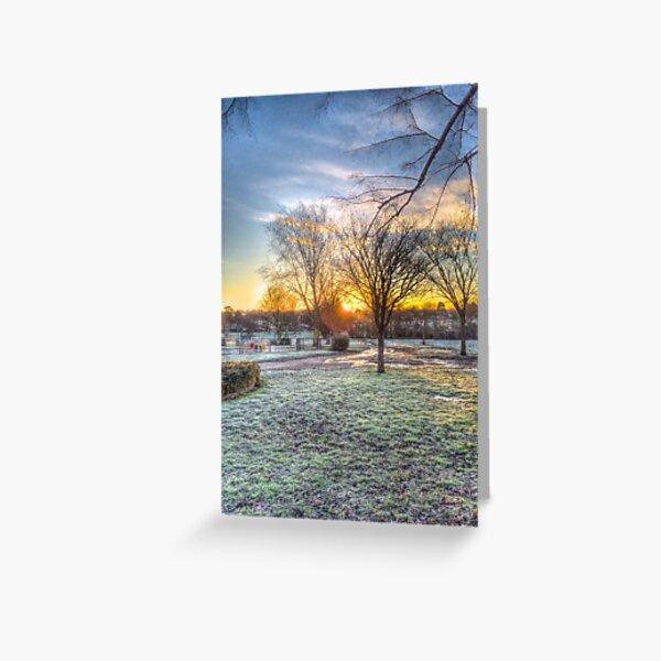 Harrowlodge Park HDR 03 Greeting Card