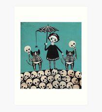 Tag der Toten Kunstdruck