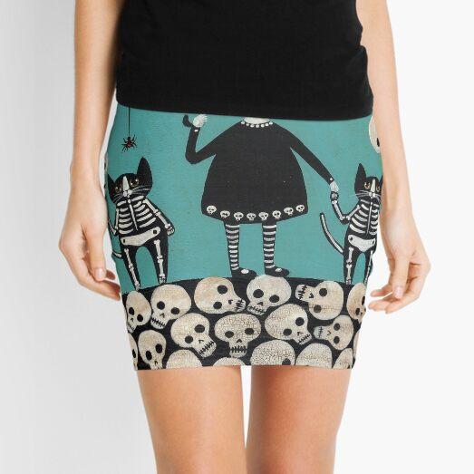 Day of the Dead  Mini Skirt