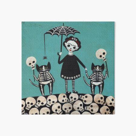 Day of the Dead  Art Board Print