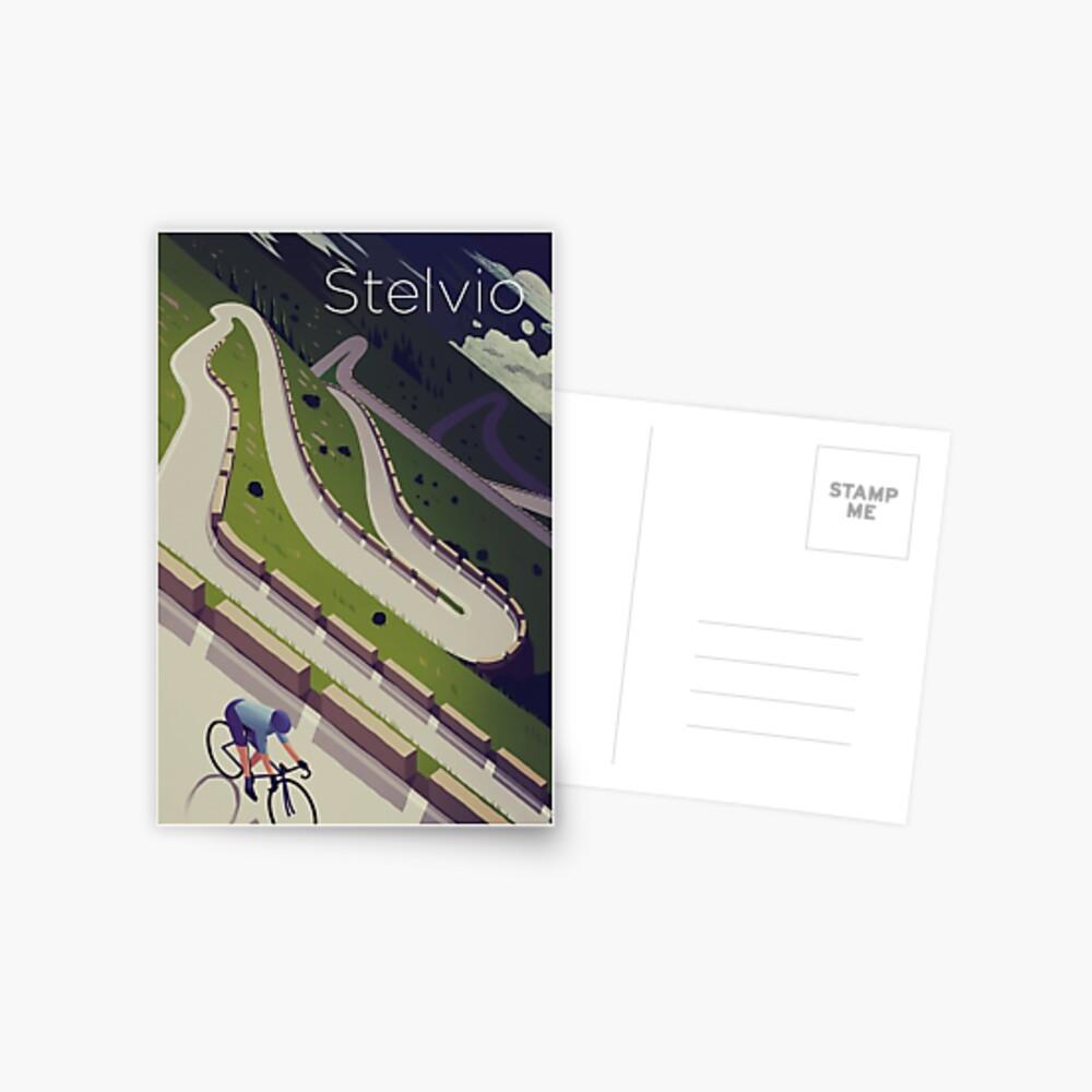 'Stelvio' Print Postcard