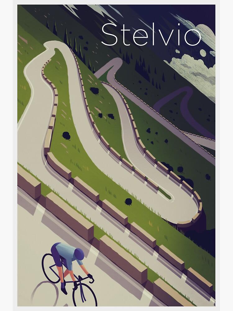 'Stelvio' Print by superchezbro