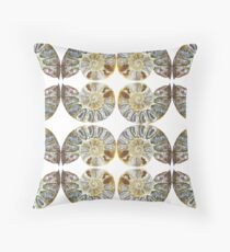 Ratio of the Cosmic Coil - Mid-Jurassic - Early Cretaceous Period Throw Pillow