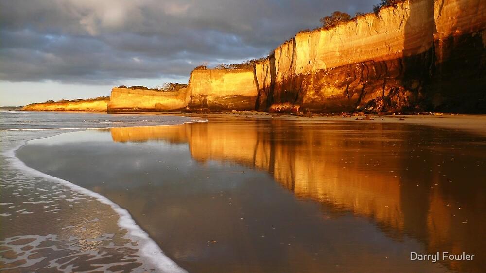 Morning Walk,Anglesea,Great Ocean Road,Australia. by Darryl Fowler