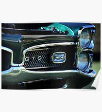 1967 Pontiac GTO detail Poster