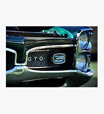 1967 Pontiac GTO detail Photographic Print