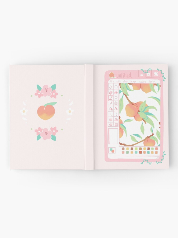 Alternate view of Peach Paint Hardcover Journal