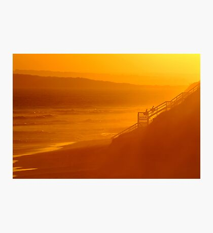 End of Day 13th Beach Photographic Print