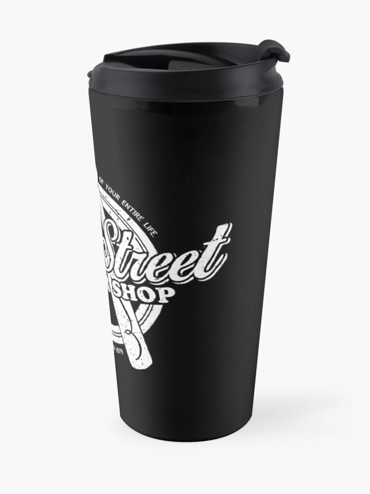 Alternate view of Fleet Street Barber Shop Travel Mug
