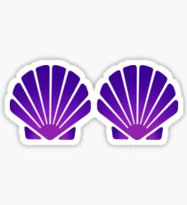 Seashell Bra Sticker