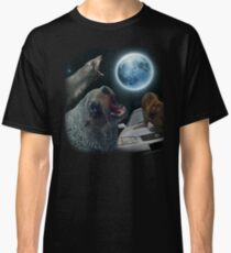 Three seal moon Classic T-Shirt