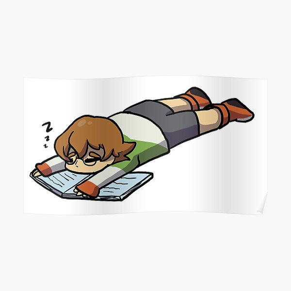 Voltron- let Pidge sleep Poster