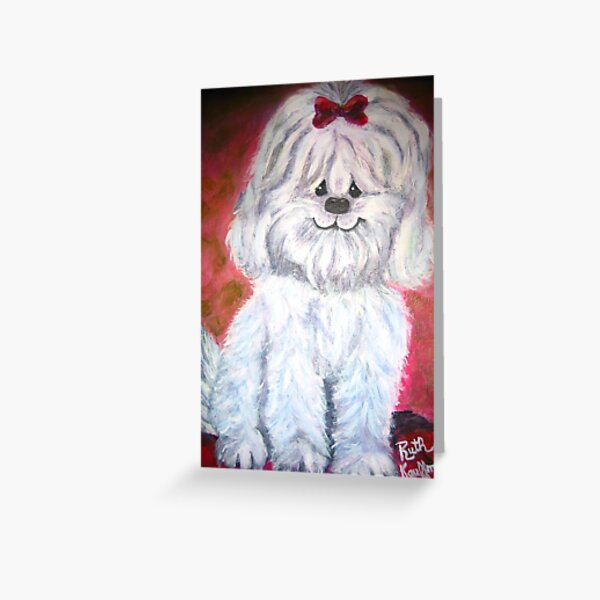 """""""Sparky"""" Greeting Card"""