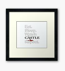 WATCH CASTLE Framed Print