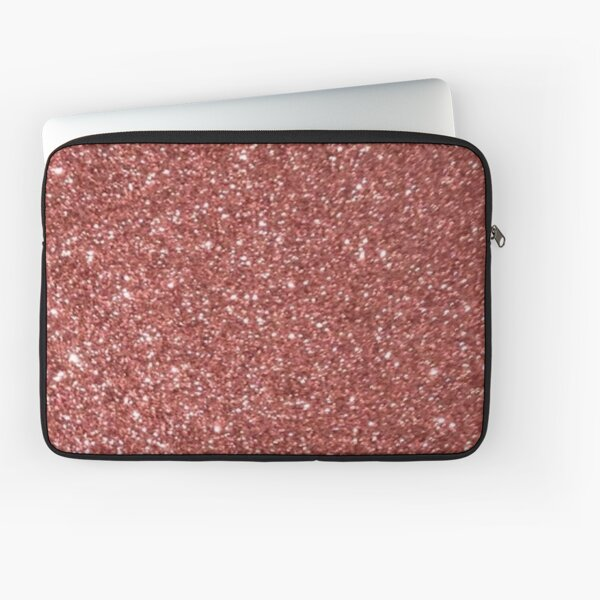 Rose Gold Glitter Laptop Sleeve