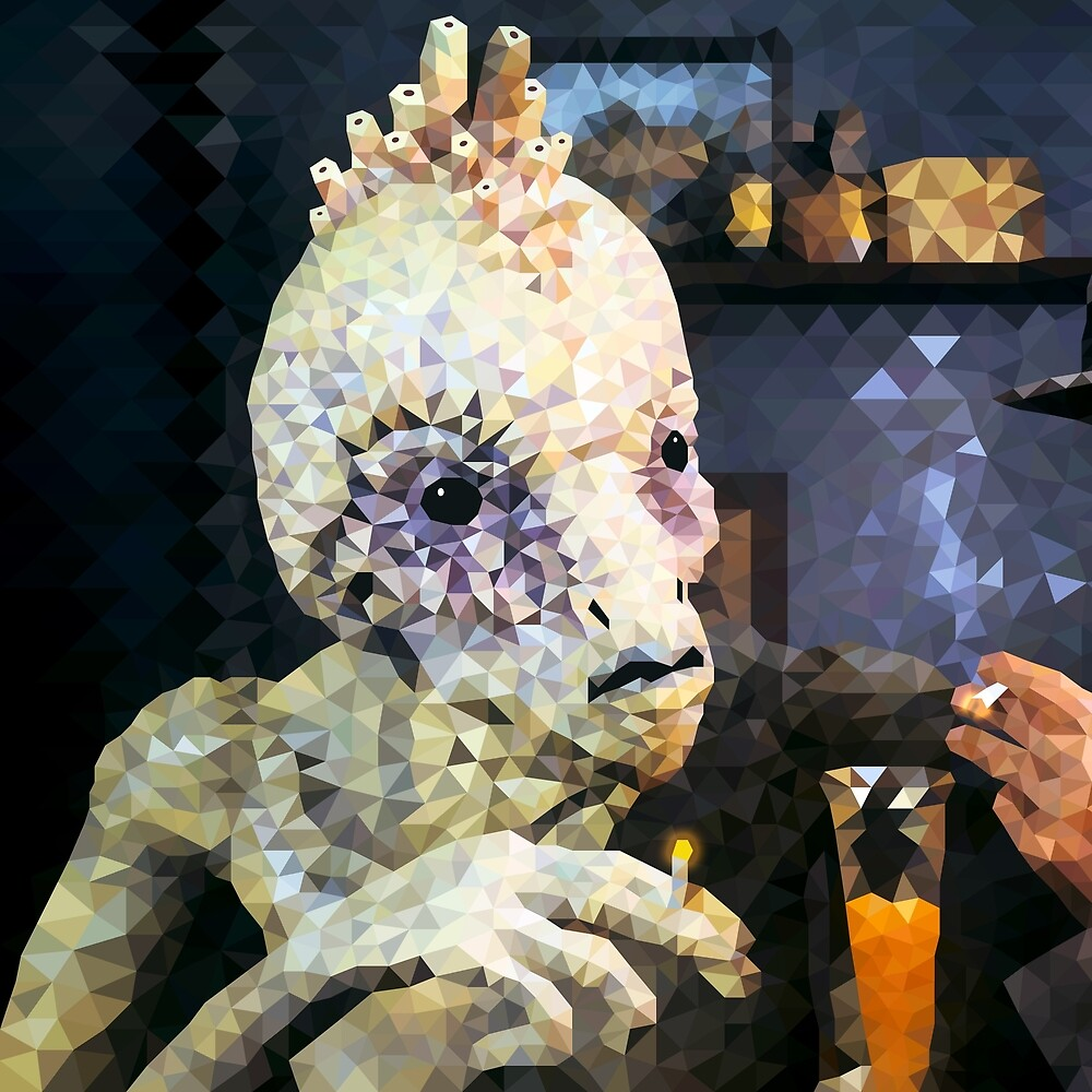 Naked Lunch Polyart - Mugwump by camlacey
