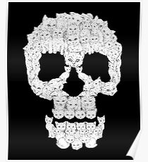 Skulls are for Pussies T-Shirt Poster