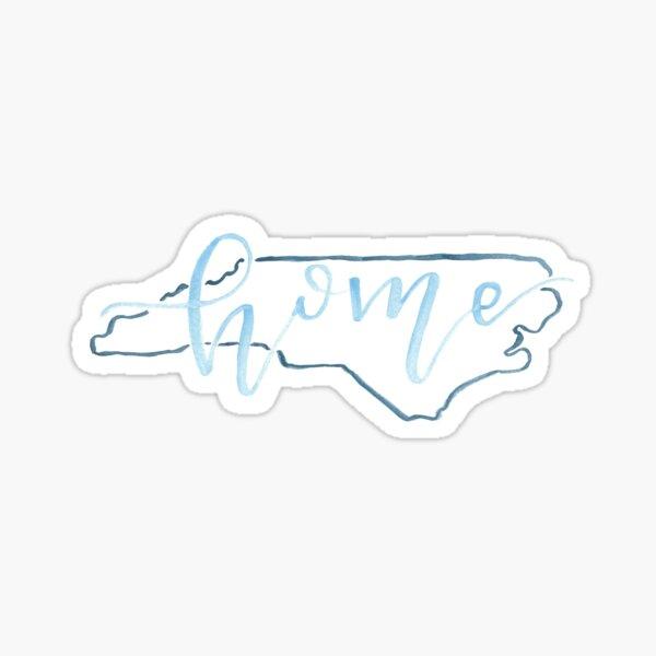 Goin' to (North) Carolina in My Mind Sticker