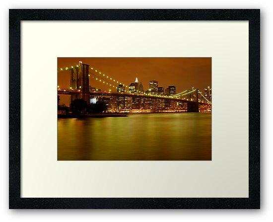 New York City Skyline at Dusk by ScottL