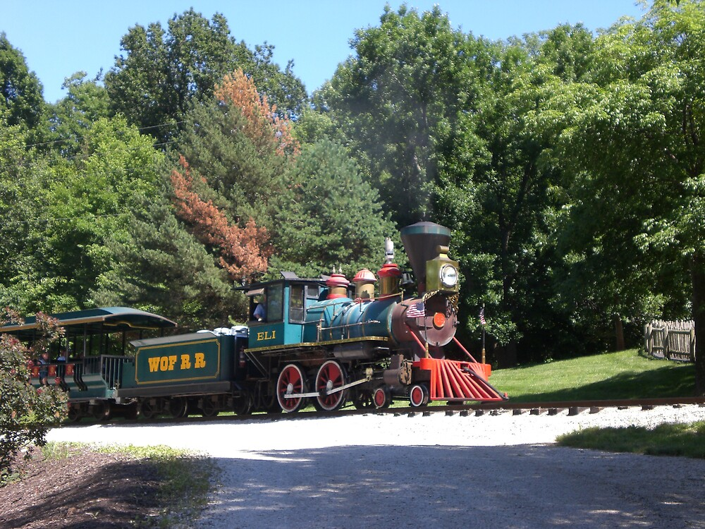 The Toot Toot Train by Ellaine Walker