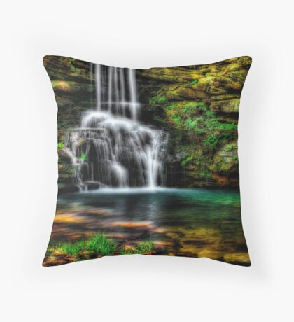 Magnolia Waterfall Throw Pillow