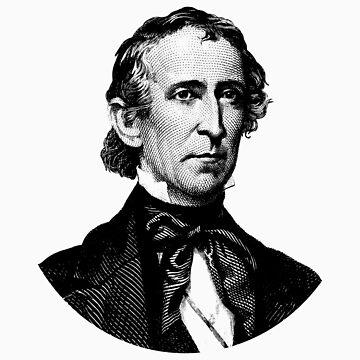 President John Tyler Graphic  by warishellstore