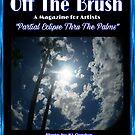 "OFF THE BRUSH... ""PARTIAL ECLIPSE THRU THE PALMS""  by WhiteDove Studio kj gordon"