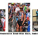 Montefalco Series #01 - Colourful Bicycle Race around Montefalco District. by Keith Richardson