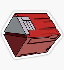 PSO Red Box Sticker