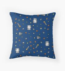 Cool Space Pattern Throw Pillow