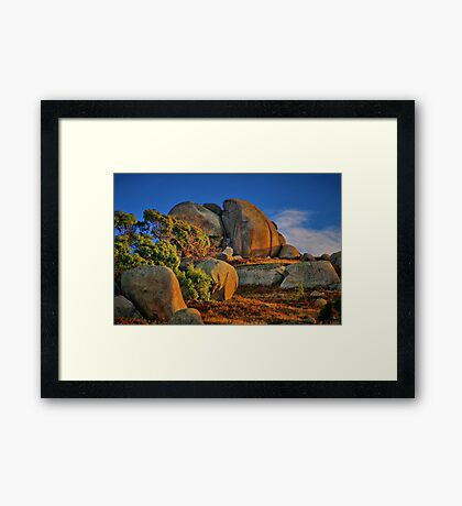 """""""Rock of Ages"""" Framed Print"""