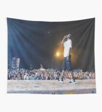 Frank Ocean Panorama Fest Wall Tapestry