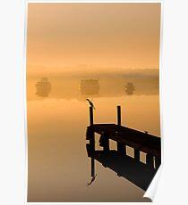 Foggy Blackalls Morning Poster