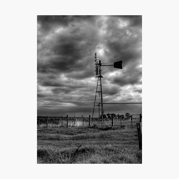 Tied Down Photographic Print