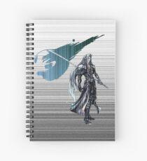 Sephiroth FF7 matrix Spiral Notebook