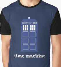 The Tardis Time Machine Graphic T-Shirt