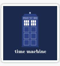 The Tardis Time Machine Sticker