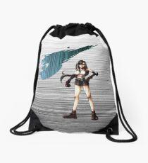 Tifa FF7 matrix Drawstring Bag