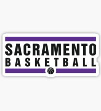 Sacramento Basketball Sticker