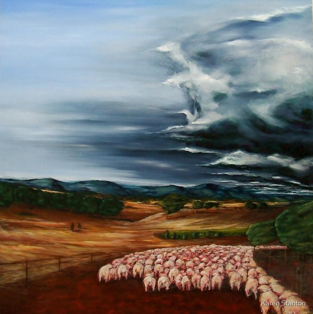 'Hungry Landscape - Tamworth' by Karen Stanton
