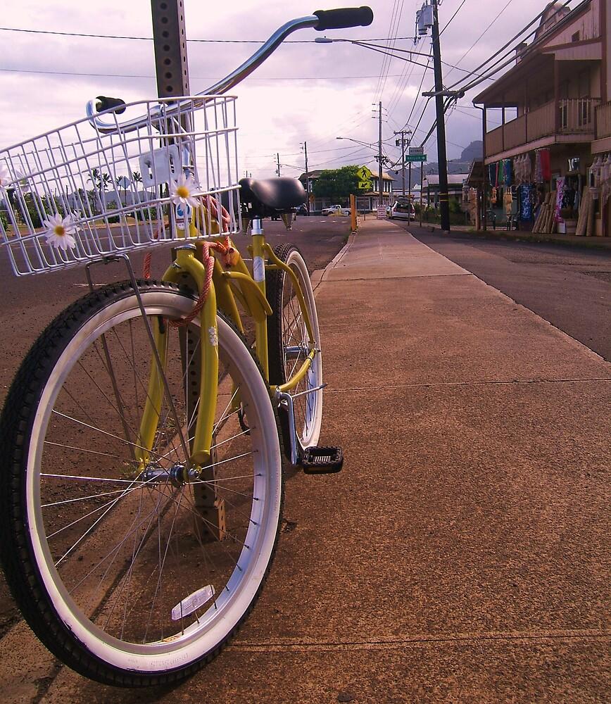 Yellow Bicyle by Diana Forgione