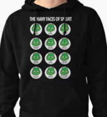 The Many Faces of Splurt Pullover Hoodie