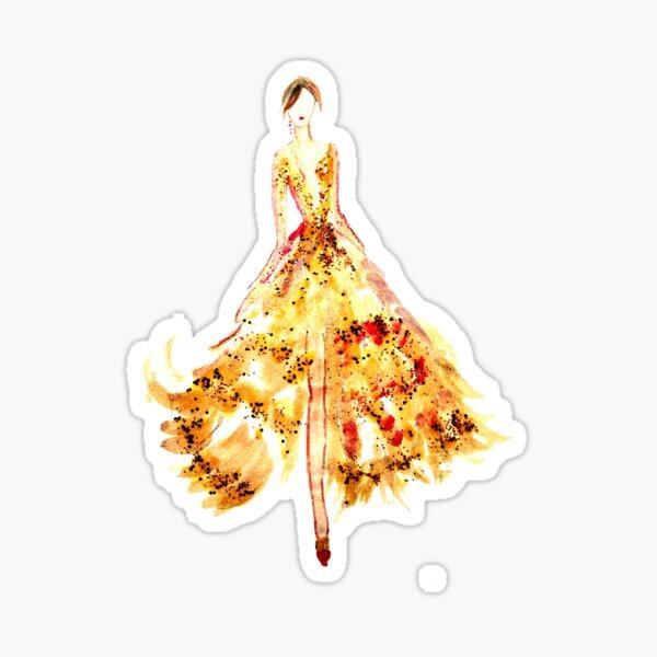 Nailpolish Fashion Art Sticker