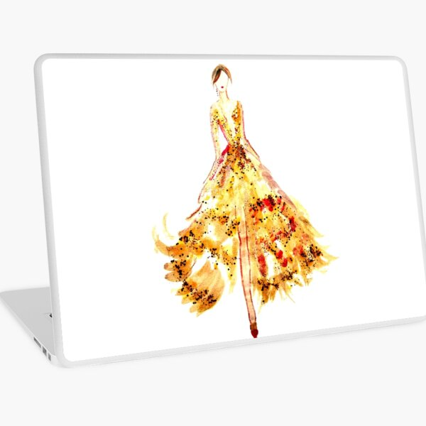 Nailpolish Fashion Art Laptop Skin