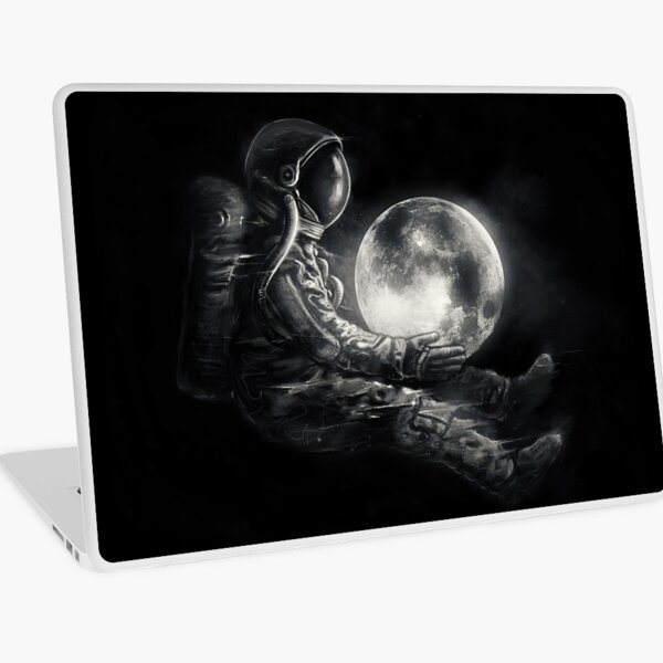 Moon Play Laptop Skin