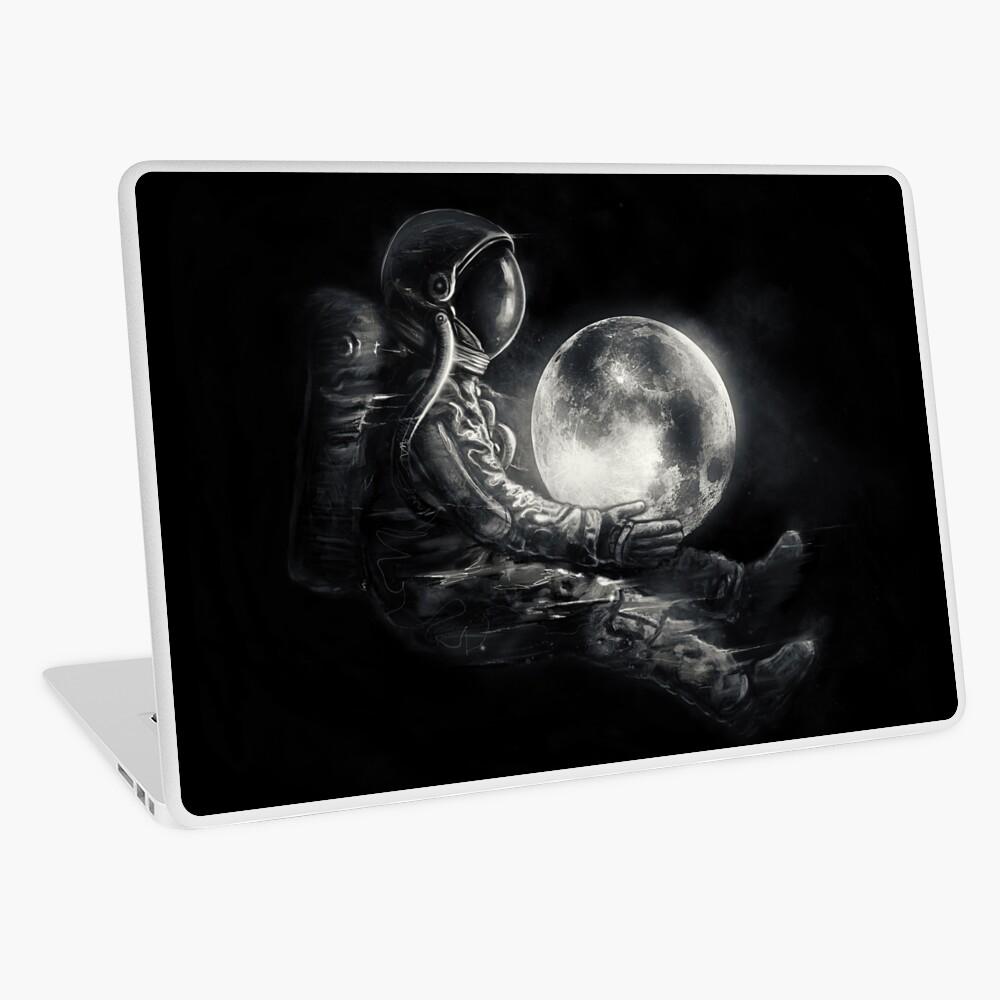 Moon Play Laptop Skin