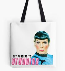 Set phasers to stunning, Mr. Spock Tote Bag